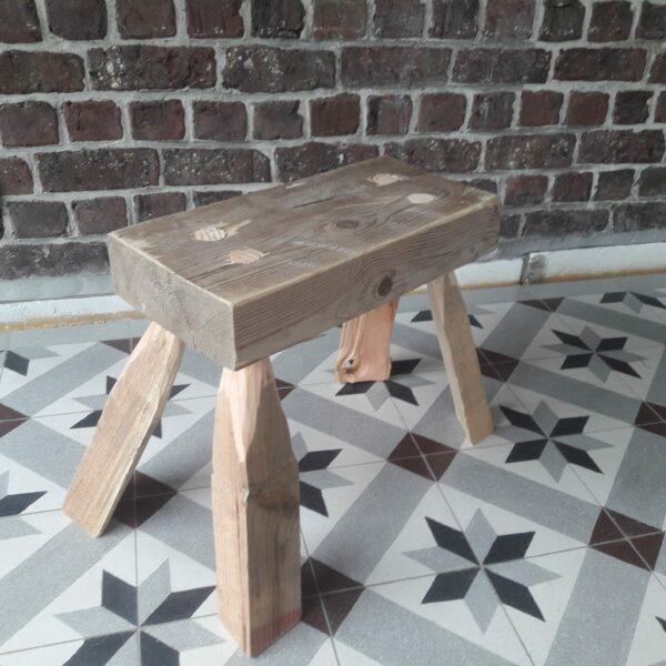 Stage travail du bois: créez votre petit banc