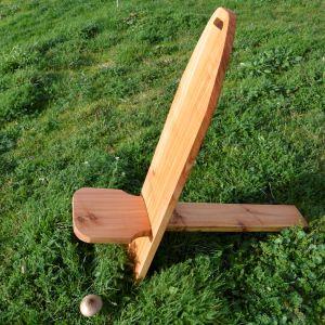 illustration Atelier ou stages sièges scandinaves en bois brut