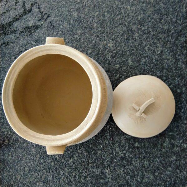Exemple intérieur de cocotte en céramique