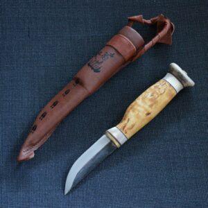 Illustration pour couteau sami scandinave